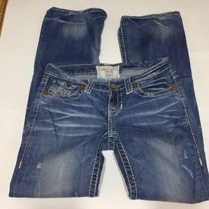 """Big Star 'Liv"""" distressed jeans"""